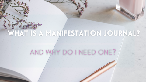 What is a manifestation journal and why do I need one blog banner