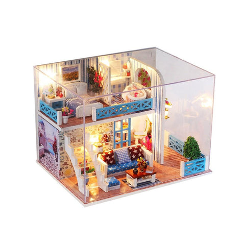 Miniature Size Doll House Model Girl Bedroom Home of Helen - VIP Toys and Hobbies