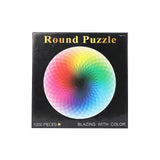 Toys Jigsaw Puzzles 1000 Piece Rainbow Adult Kids DIY Puzzle Child Toys Home Decor - VIP Toys and Hobbies