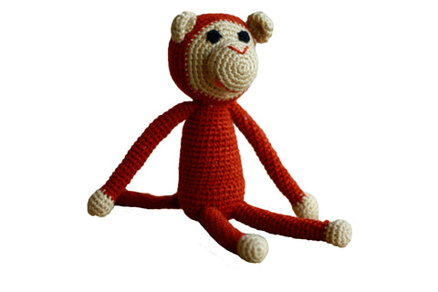 Baby & Kids Crocheted Monkey - VIP Toys and Hobbies