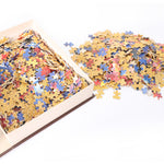 Toys Jigsaw Puzzles 1000 Piece Adult Kids DIY Basswood Puzzle Child Toys Home Decor - VIP Toys and Hobbies