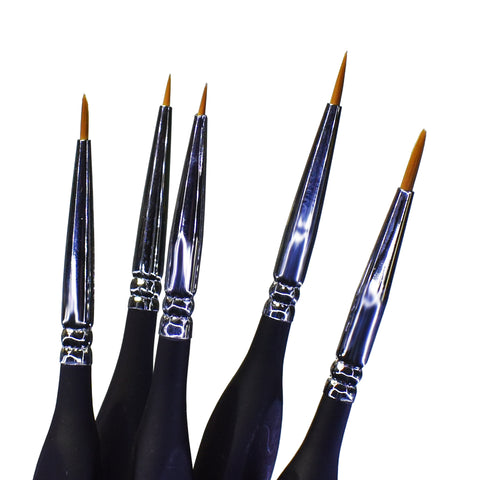 BSET03 Synthetic 5x BRUSH SET - VIP Toys and Hobbies