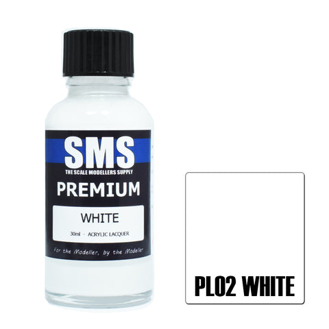 PL02 Premium WHITE 30ml - VIP Toys and Hobbies