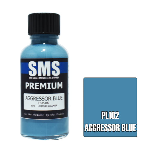 PL102 Premium AGGRESSOR BLUE 30ml - VIP Toys and Hobbies