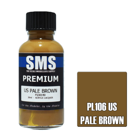 PL106 Premium US PALE BROWN 30ml - VIP Toys and Hobbies