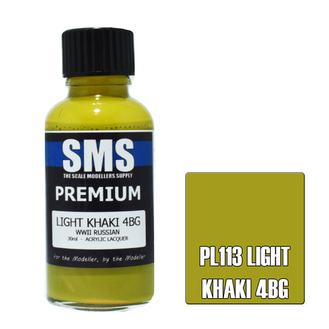 PL113 Premium LIGHT KHAKI 4BG 30ml - VIP Toys and Hobbies
