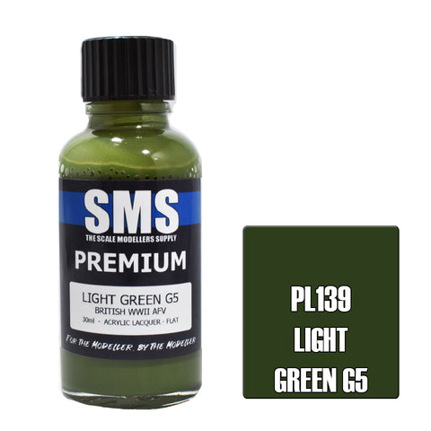 PL139 Premium LIGHT GREEN G5 30ml - VIP Toys and Hobbies
