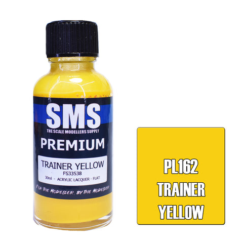 PL162 Premium TRAINER YELLOW 30ml - VIP Toys and Hobbies