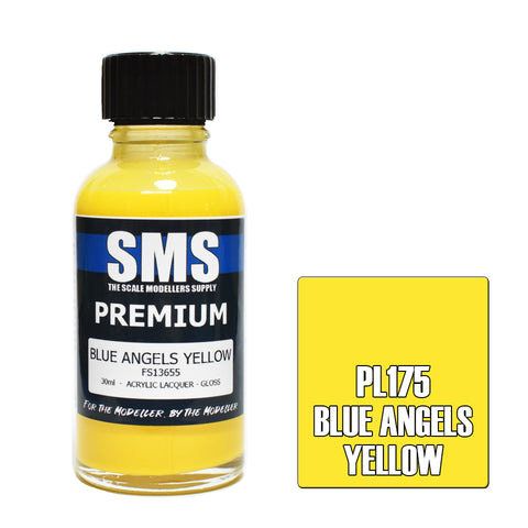 PL175 Premium BLUE ANGELS YELLOW 30ml - VIP Toys and Hobbies