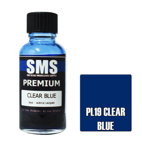 PL19 Premium CLEAR BLUE 30ml - VIP Toys and Hobbies