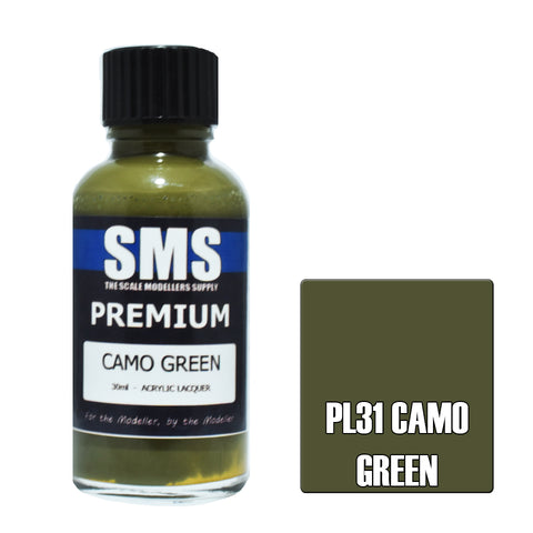 PL31 Premium CAMO GREEN 30ml - VIP Toys and Hobbies