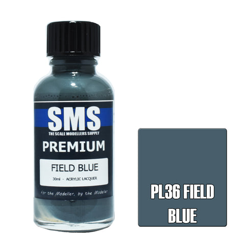 PL36 Premium FIELD BLUE 30ml - VIP Toys and Hobbies