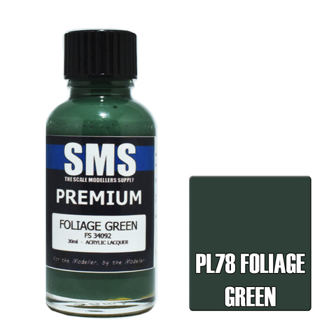 PL78 Premium FOLIAGE GREEN 30ml - VIP Toys and Hobbies