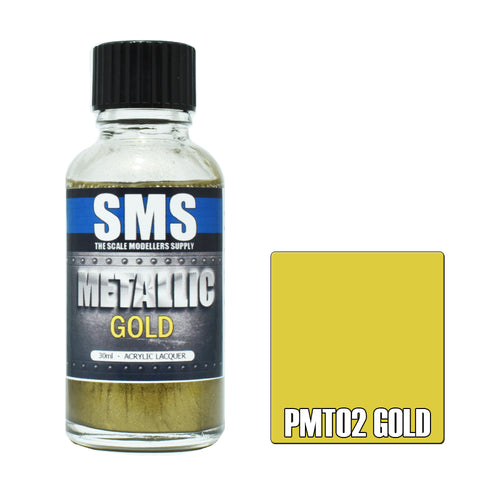 PMT02 Metallic GOLD 30ml - VIP Toys and Hobbies