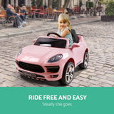 Rigo Kids Ride On Car - Pink - VIP Toys and Hobbies