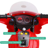 Rigo Kids Ride On Motorbike Motorcycle Car Red - VIP Toys and Hobbies