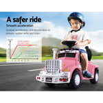 Ride On Cars Kids Electric Toys Car Battery Truck Childrens Motorbike Toy Rigo Pink - VIP Toys and Hobbies