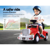 Ride On Cars Kids Electric Toys Car Battery Truck Childrens Motorbike Toy Rigo Red - VIP Toys and Hobbies