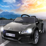 Kids Ride On Car Audi Licensed TT RS Black - VIP Toys and Hobbies