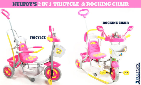 2In1 Tricycle And Rocking Chair - VIP Toys and Hobbies