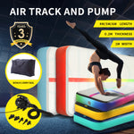 Sporting Goods 6x1M Air Track Inflatable Mat Airtrack Tumbling Electric Air Pump Gymnastics - VIP Toys and Hobbies