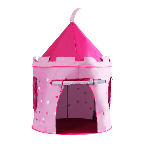 Toys Children Pop Up Play Tent Princess Castle Pink UV Proof Indoor & Outdoor Use - VIP Toys and Hobbies