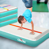 Sporting Goods Centra 2x Air Track Block Inflatable Mat Airtrack Tumbling Air Pump Gymnastics - VIP Toys and Hobbies