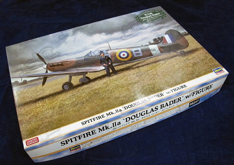 Hasegawa 1/32 British Spitfire MK.Iia Fighter Ace 08247 - VIP Toys and Hobbies