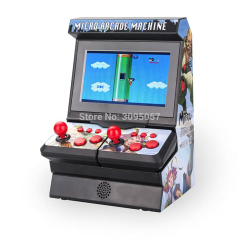 WOLSEN 4.3 Inch Wireless Mini Arcade Handheld Game Console 300 Games - VIP Toys and Hobbies