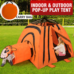 Toys Outdoor Indoor Pop Up Kids Play Tent Tunnel Playhouse Children Home Portable - VIP Toys and Hobbies