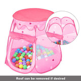Toys BoPeep Kid Children Pop Up Ball Pit Play Tent Cubby Playhouse Kids Gift Toy Pink - VIP Toys and Hobbies