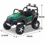 Toys BoPeep 12V Kids Electric Ride on Car Jeep Toys Off Road Built-in Songs Gifts - VIP Toys and Hobbies