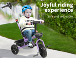 Toys BoPeep Baby Walker Kids Tricycle Ride On Trike Toddler Balance Bicycle Purple - VIP Toys and Hobbies