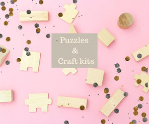 puzzles & craft kits
