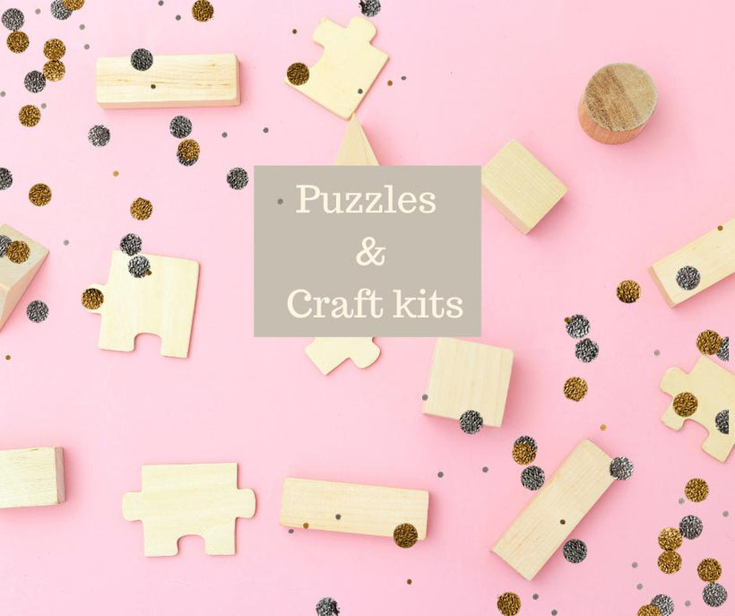 Puzzles and Craft Kits