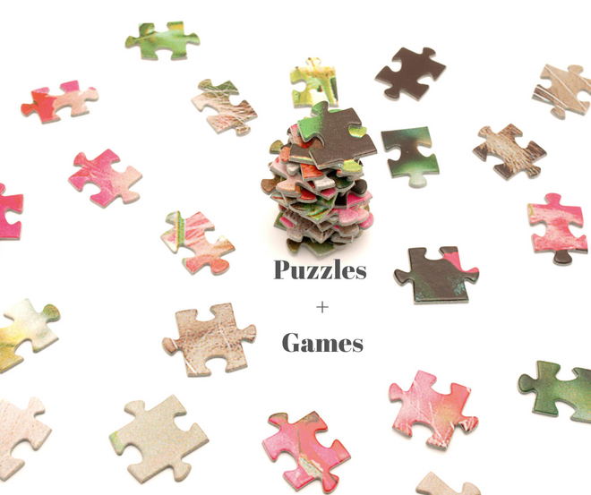 Puzzles + Games