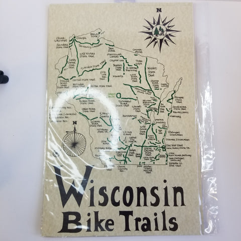 Wisconsin Bike Trails Map