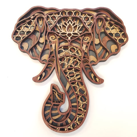 Elephant Wood  Artwork