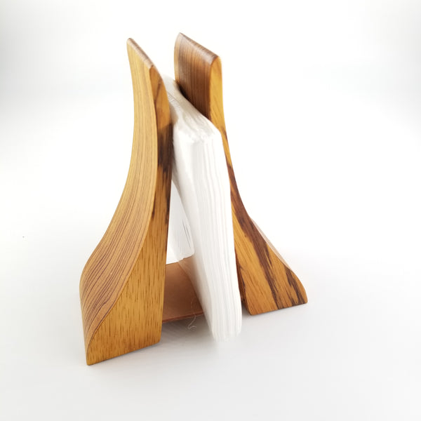 Tigerwood napkin holder