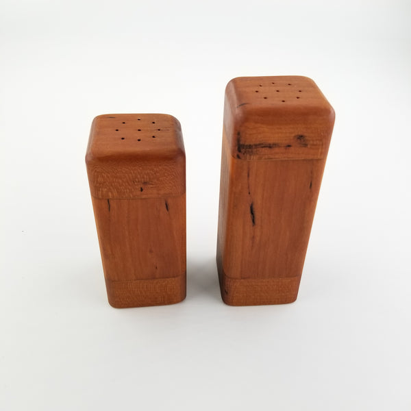 Wooden salt and pepper shaker