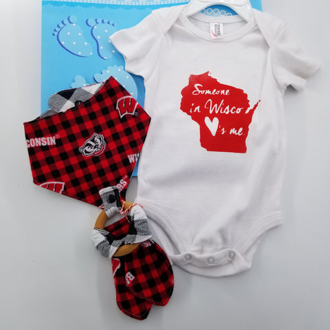 Someone in Wisconsin Loves Me | Baby Wisconsin Gift