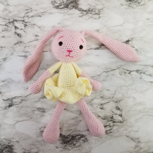 Crochet Bunny Rabbit Baby Toy