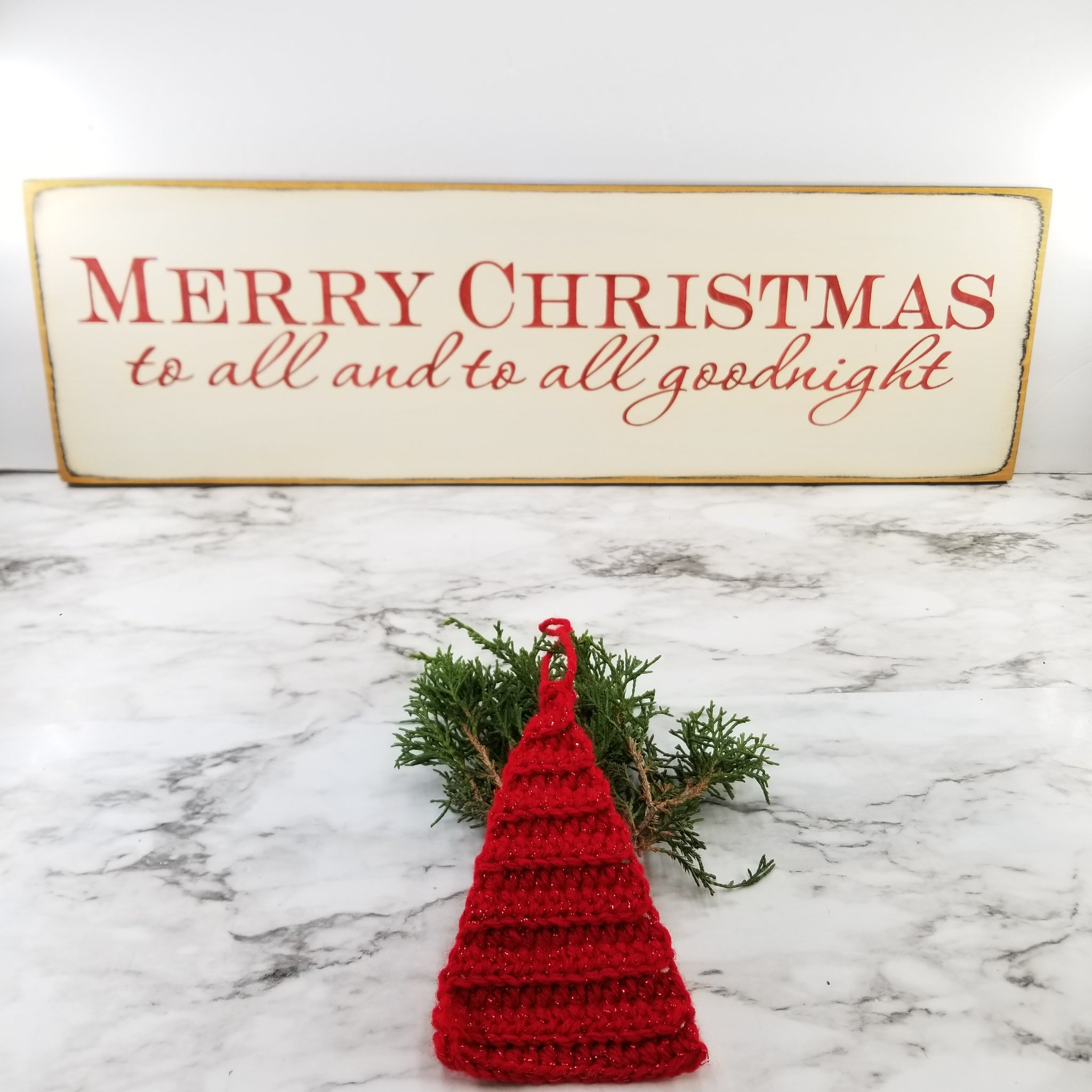Merry Christmas wooden signs