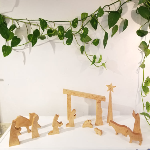 Nativity Set | Wooden Nativity Scene