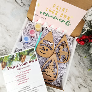 Paint Your Ornament DIY Kit