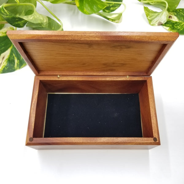 Wooden Jewelry Box - Large