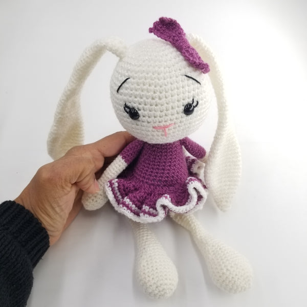 Bunny Knitted Toy - Large