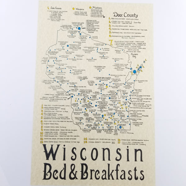 Bed and breakfast in Wisconsin