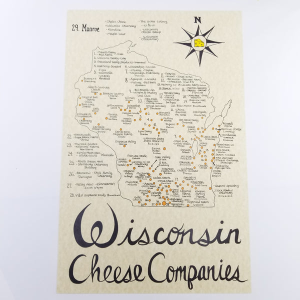 Wisconsin cheese lovers gift