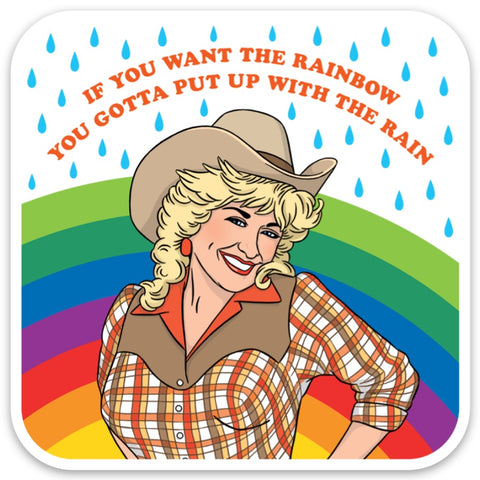 dolly if you want the rainbow sticker